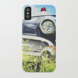 Cherries and Berries {Historic Cop Car} 1950's Buick  iPhone Case
