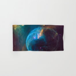 Bubble Nebula Astronomy Hand & Bath Towel