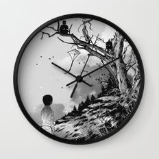 Welcome, Stranger! Wall Clock