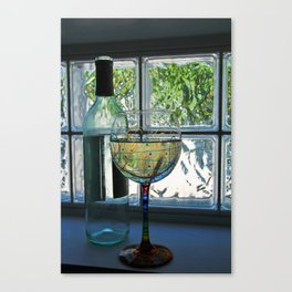 Wine with Me Canvas Print