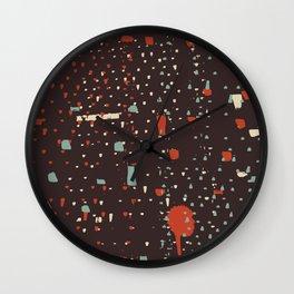 Retro CityLights Wall Clock