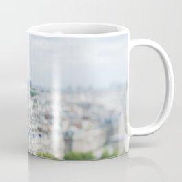 Paris Landscape - TiltShift Coffee Mug