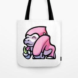 Pink Gorilla X Enfu Gorilla Tote Bag