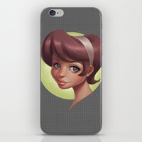 dot iPhone & iPod Skins featuring Dot by Shelly Soneja