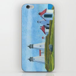 Plymouth Lighthouse iPhone Skin