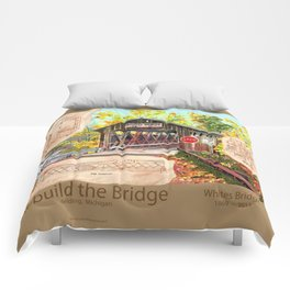 Rebuild the Bridge Comforters