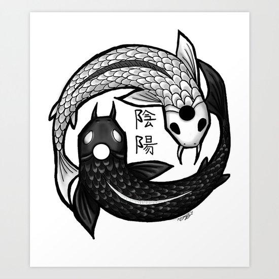 Balance Design Art Print
