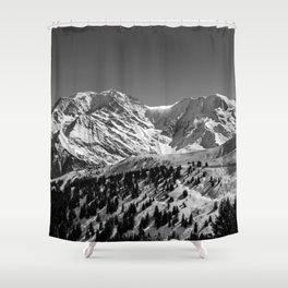 Mt. Blanc Shower Curtain