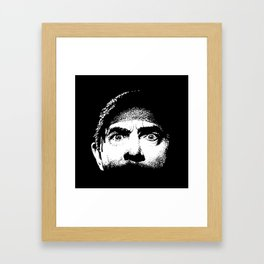 Bela Lugosi creepy eyes Dracula Framed Art Print