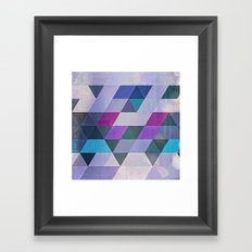 flyty Framed Art Print