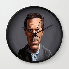 Celebrity Sunday ~ Hugh Laurie Wall Clock