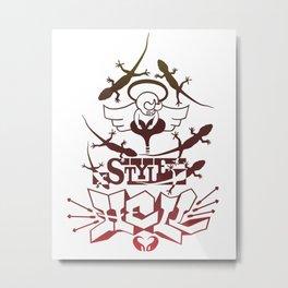 Style Hell Metal Print