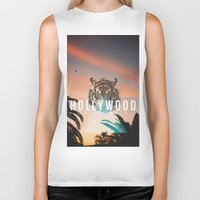 hollywood Biker Tanks featuring HOLLYWOOD by Warren Silveira + Stay Rustic