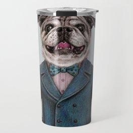 dog portrait Travel Mug