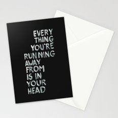 In your head Stationery Cards