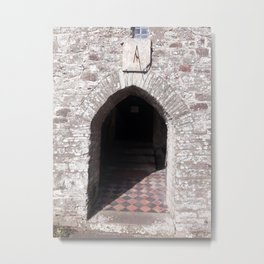 St. Isfael Church - Carmarthenshire, Wales - Series Metal Print
