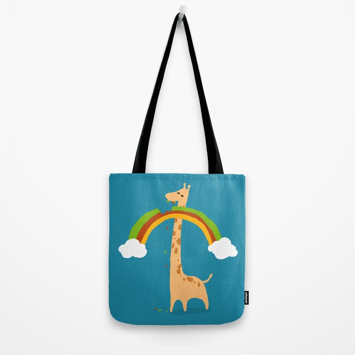 Taste of Happiness Rainbow Tote Bag