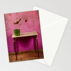 The colorful decay of plants Stationery Cards