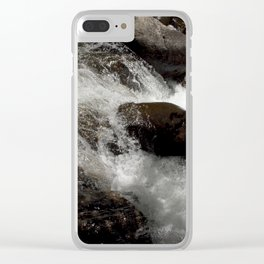 A Place to Contemplate, on Fall Creek Clear iPhone Case