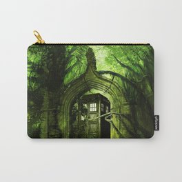 Tardis in the forest Carry-All Pouch