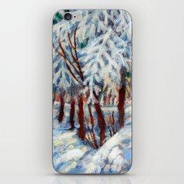 Snow in October by Dennis Weber / ShreddyStudio iPhone Skin
