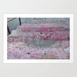 Grimy Steps Art Print