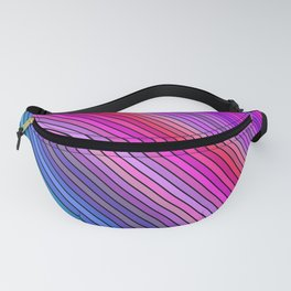 Cold rainbow stripes Fanny Pack