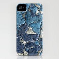 Blue Crumble iPhone (4, 4s) Slim Case