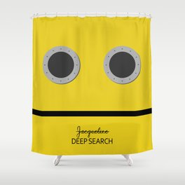 deep search Shower Curtain