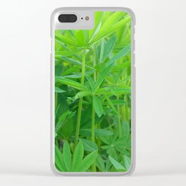 Flowers Izby Garden 3 Clear iPhone Case
