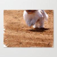 running Canvas Prints featuring Running by Rich Okun