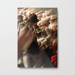 Jazz musician trumpet player Metal Print