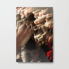 Jazz musician trumpet player Metal Print