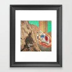 .Jump. Framed Art Print
