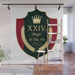 24 karat magic in the air (XXIV k song lyrics) Wall Mural