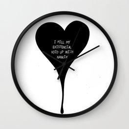 Existencial Void Wall Clock