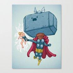 The Mighty Mjolnir Canvas Print