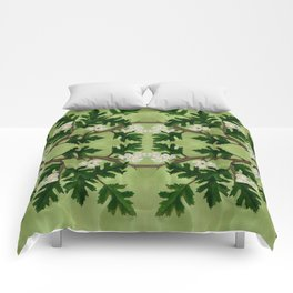 Olwen Hawthorn Panel Comforters