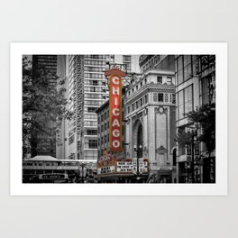 CHICAGO State Street Art Print