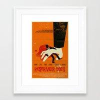 reservoir dogs Framed Art Prints featuring Reservoir Dogs by Mark Welser