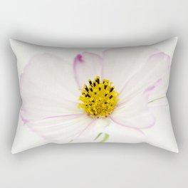 Sensation Cosmos White Bloom Rectangular Pillow
