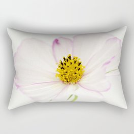 Sensation Cosmos White Bloom Rectangular Pillow