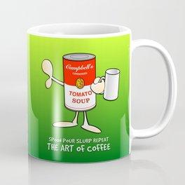 Tomato soup mug (green) Coffee Mug