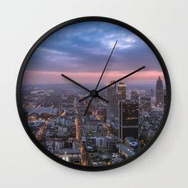 The roads Frankfurt am Main Wall Clock