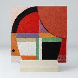 Женщина, яблоко, со змеем (Woman, an apple and the serpent) Mini Art Print
