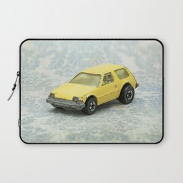 Yellow Hot Wheels Packin' Pacer 1977 Laptop Sleeve