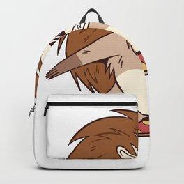 SKATER HEDGEHOG Backpack