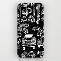 cars iPhone & iPod Skins featuring Cars by liberthine01