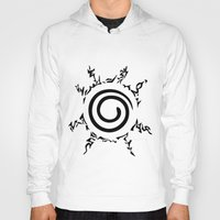 naruto Hoodies featuring Naruto Seal by Prince Of Darkness