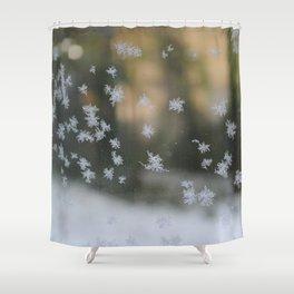 "It's frosty ""Ice Flower"" #1 #art #society6 Shower Curtain"